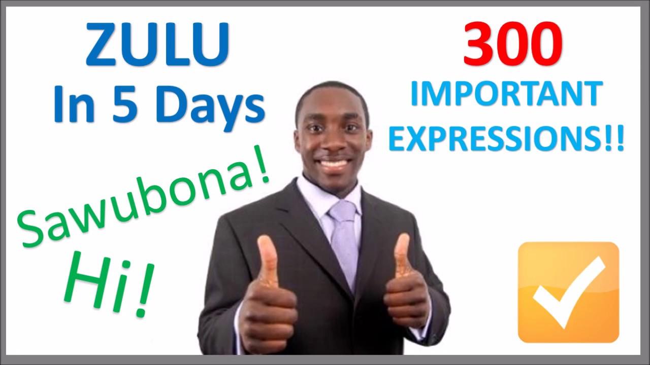 Learn Zulu Pdf