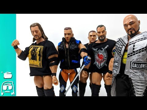 Toy Fails: WWE & NXT Wrestler Toys Not Made by Mattel Unboxing! Adam Cole, Gallows, Hawkins & More!!