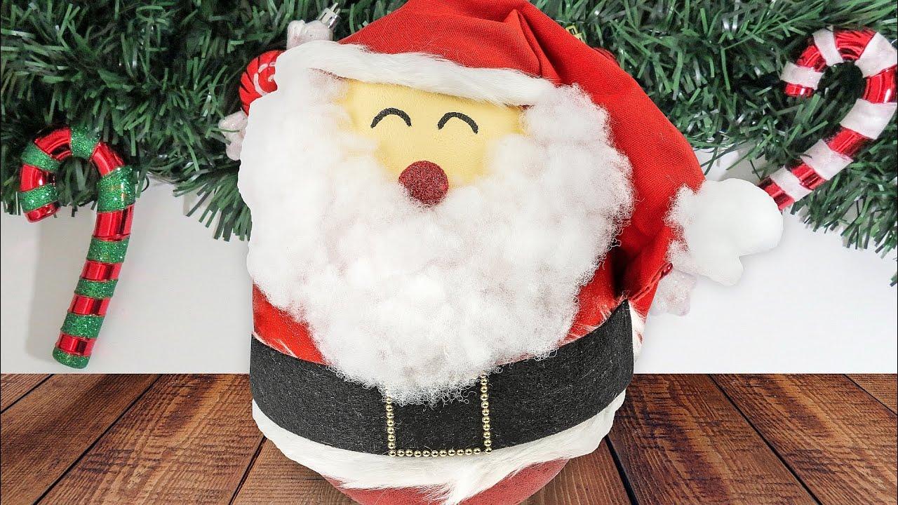 Ideen Mit Herz Xxl Weihnachtsmann Basteln Zum Befüllen Mit Süßigkeiten Xmas Diy Santa Claus