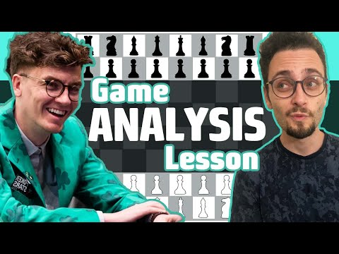 Analyzing 2 Chess Games: King's Indian Defense