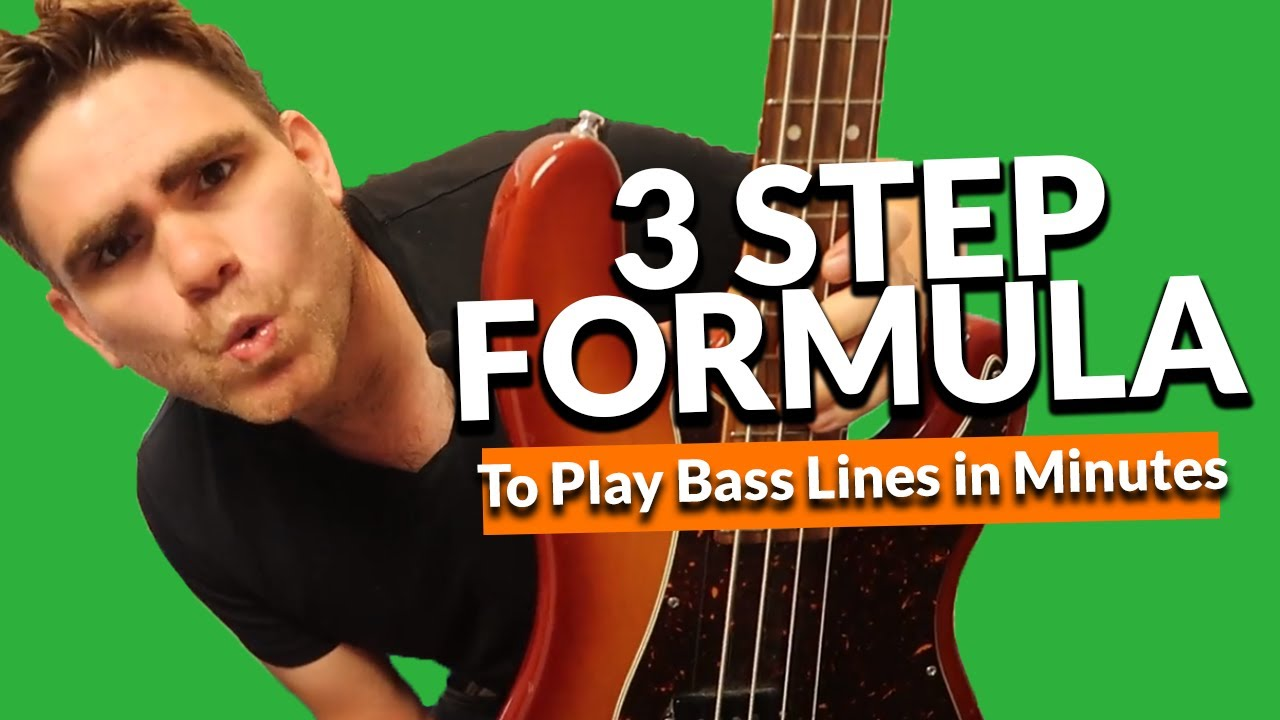 The 3 Step Formula To Play Bass Lines In Minutes