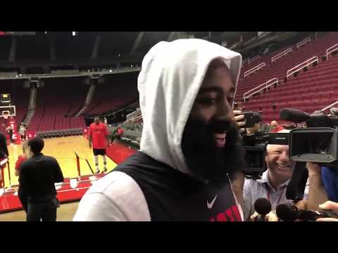 "James Harden on Chris Paul ""...it was like love at first sight"""