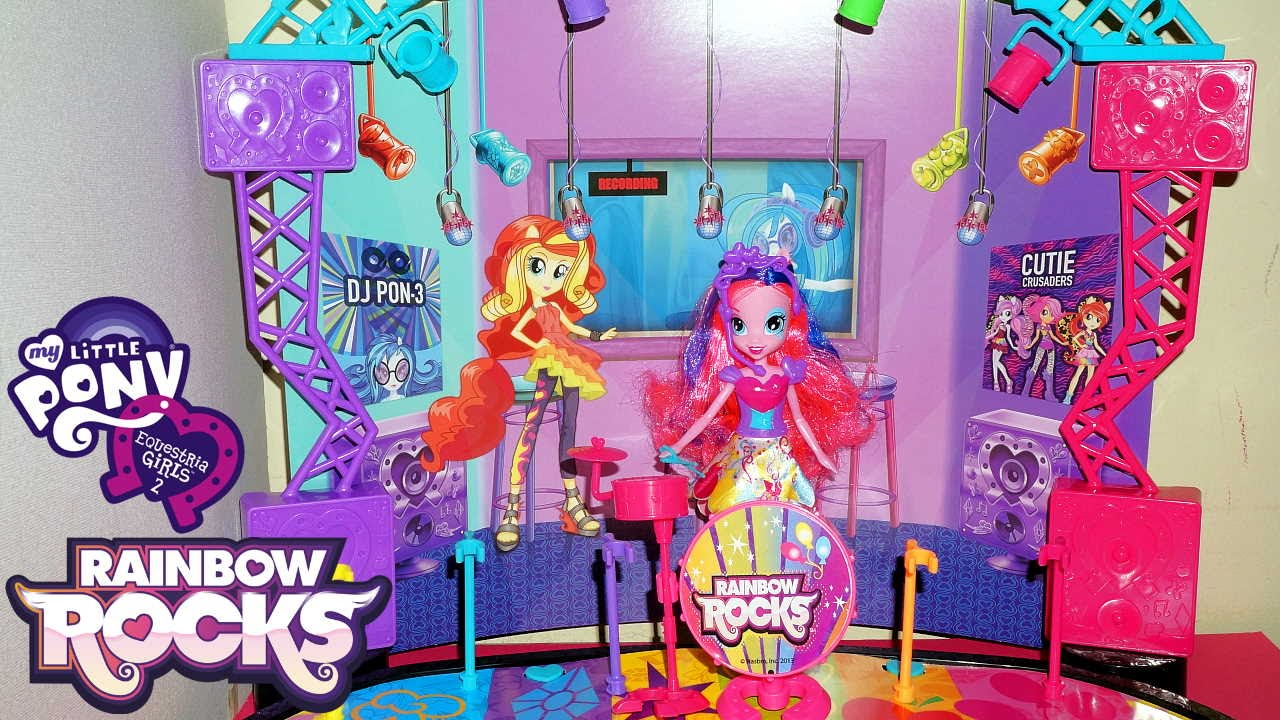 My Little Pony Equestria Girls Rainbow Rocks Mane Event