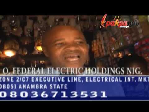 IGBO MARKET: ELECTRICAL DEALERS INTERNATIONAL MARKET OBOSI, ANAMBRA STATE