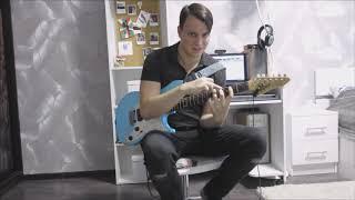 GUITARCLASSES|Урок электрогитарs для начинающих-3|Начало импровизации|Пентатоника