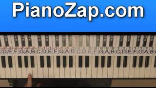 how to play 5 o clock t pain on piano tutorial