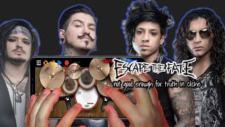 Escape The Fate - Not Good Enough For Truth In Cliche | Real Drum Playthrough