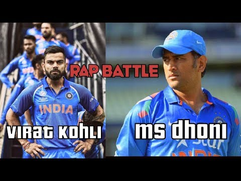 Virat Kohli VS MS Dhoni | Rap Battle