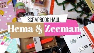 Scrapbook Haul Halloween   Zeeman y Hema   Yoltzin handmade