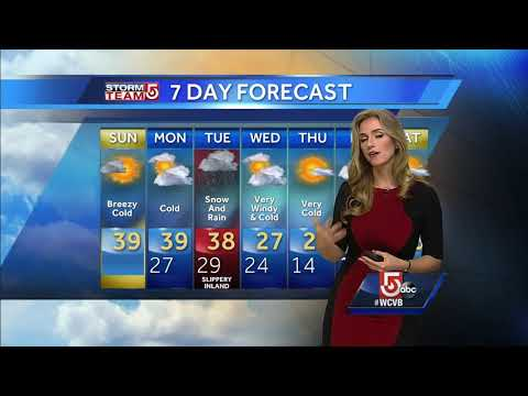 Video: Tracking Deep Cold And Next Snow Threat