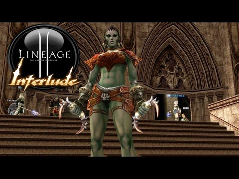 LINEAGE 2 CLASSIC INTERLUDE #30 | MONK  - A DOS MANOS ! LIVE
