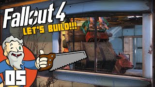 """ADVANCED BUILDING TIPS & TRICKS!!!"" Fallout 4 LET'S BUILD Part 5 - 1080p HD PC Gameplay Walkthrough"