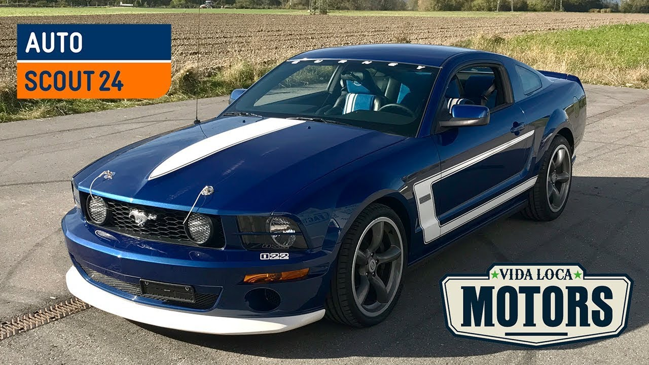 Ford usa mustang saleen dan gurney autoscout24