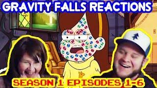 Gravity Falls Season1 Episodes 1-6 reaction (Special edition edit)
