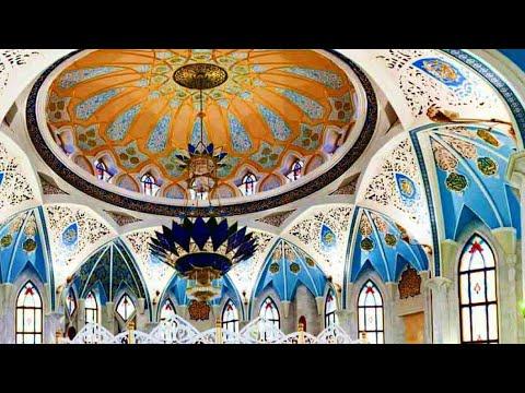 Внутри самой главной мечети Татарстана(Кул-Шариф)