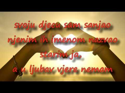 Oliver Dragojević - U ljubav vjere nemam (KARAOKE)