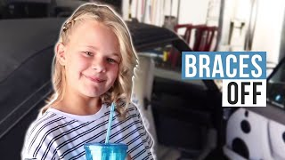 Reese Gets Her Braces Off | The LeRoys