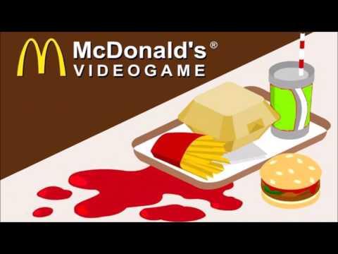 Mcdonalds Game Burger Ty Theme