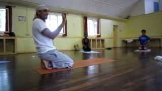 Neil Patel - Chi Kri Yoga - Peacock 2 teaching / BWOY Workshop