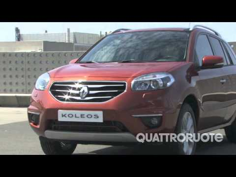 New 2012 Renault Koleos complete video