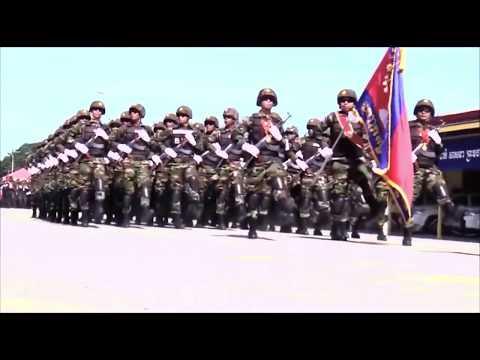 Cambodia prepare War with Laos 2017