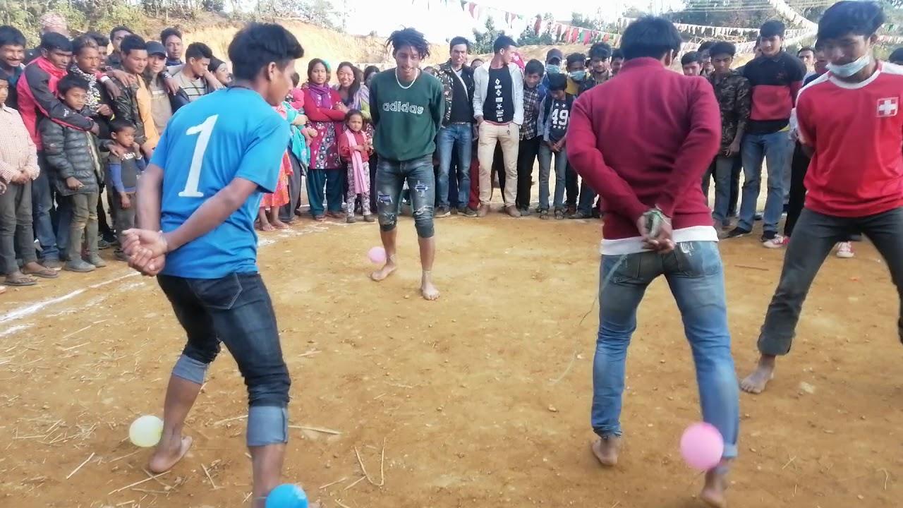साल्को पातको टपरी गीतमा खत्रा रमाईलो गोबरा  खेल Salko patko tapari  Gobara  Game 2075