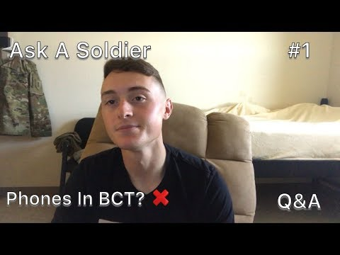 Repeat PHONES IN ARMY BASIC TRAINING | ASK A SOLDIER #1 by P