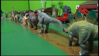 10마리 공룡 동굴 속으로 이동 Go into the cave of 10 dinosaurs