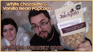 Joe & Sephs White Chocolate Vanilla Popcorn Review