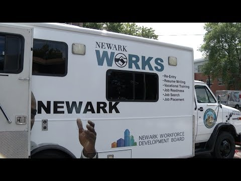 'Jobmobile' Works To Employ Newark Residents