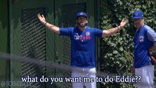 Cubs bullpen catcher gets locked out of the bullpen, a breakdown