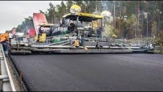SCONVOLGENTE !!!  ecco come fanno le strade in Germania
