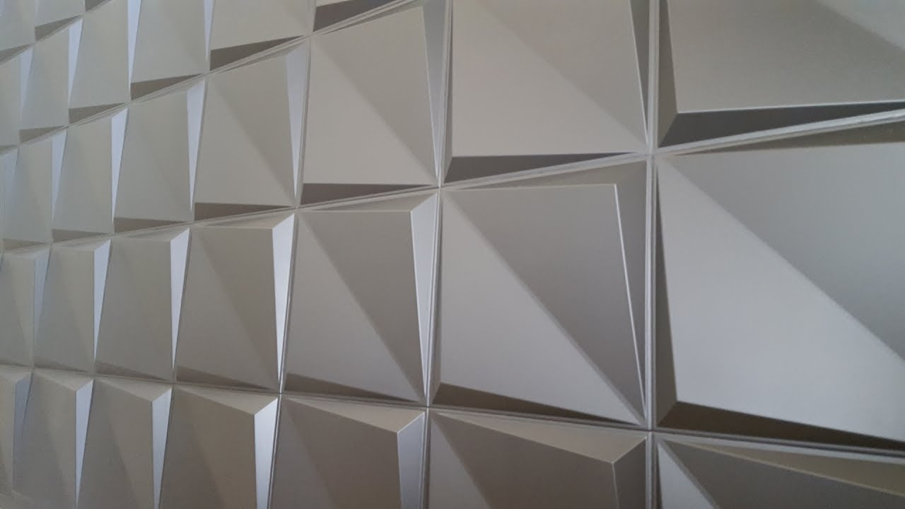 Rigid Foam 3d Wall Panels Installation Falcon Eye Youtube
