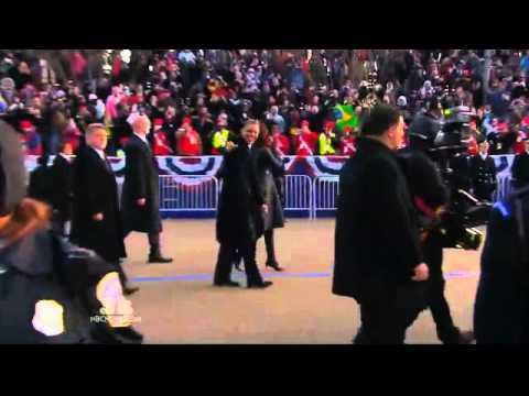 "Al Roker's Obama ""Interview"" and Biden Handshake at Inauguration 2013"