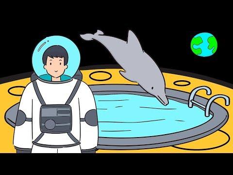 Что, если вы могли бы плавать на Луне