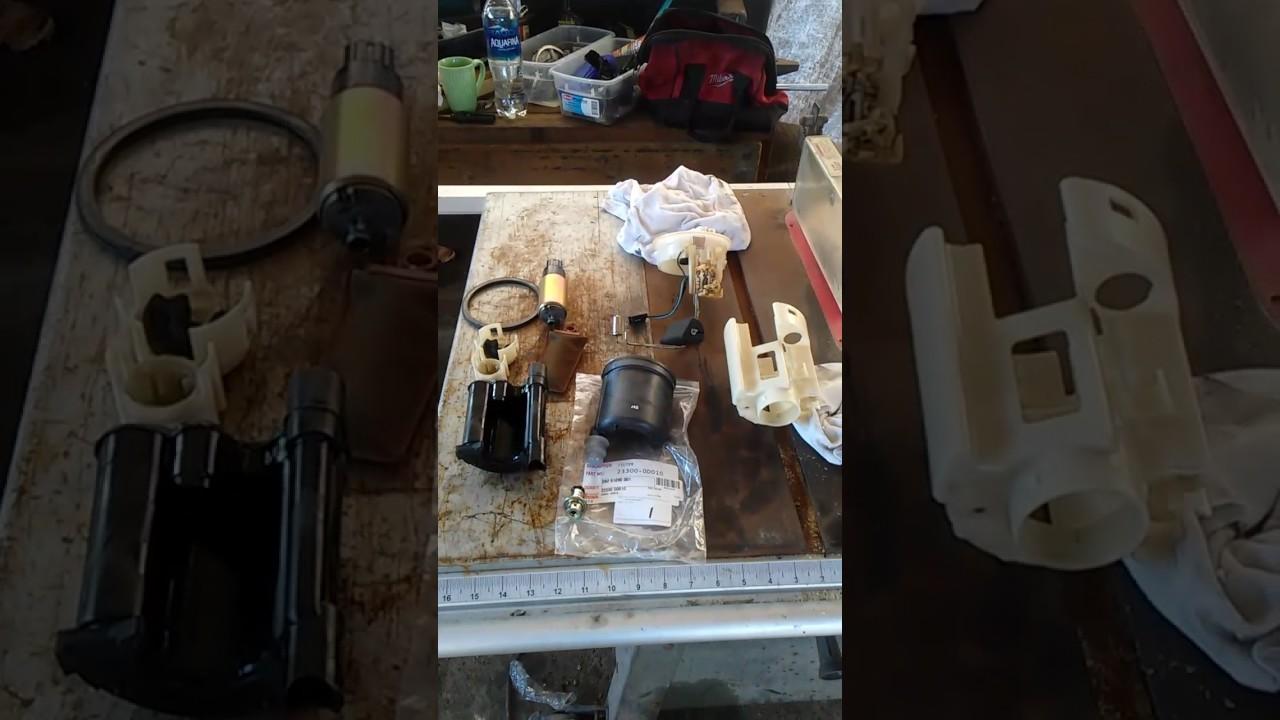 2000 toyota corolla fuel filter youtube. Black Bedroom Furniture Sets. Home Design Ideas