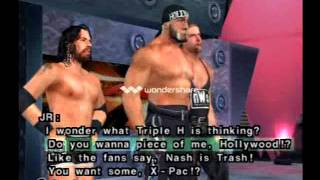 WWE Smackdown Shut Your Mouth season mode nWo cutscenes