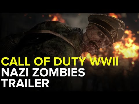 CALL OF DUTY WWII NAZI ZOMBIES - Gameplay Trailer