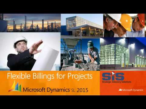 Dynamics SL Webinar - Flexible Billings Module for Projects
