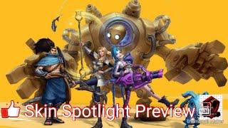 League of Legends Wildrift Alpha Test Skin Spotlight Preview