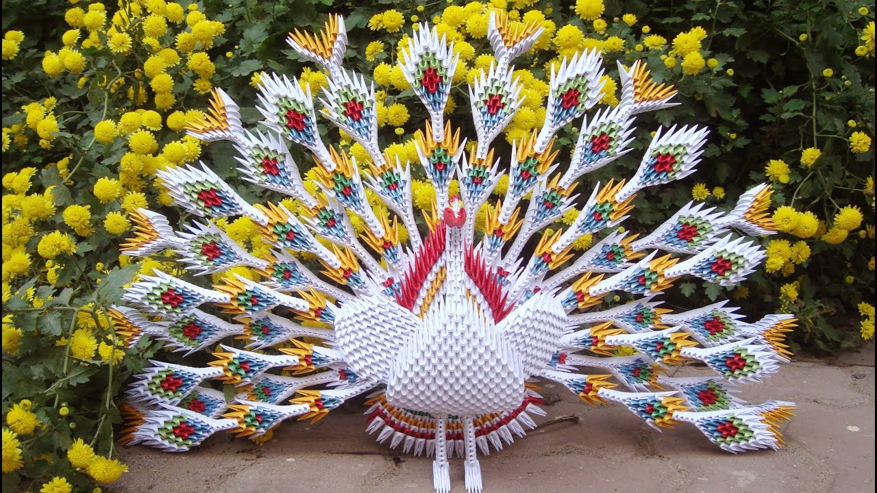 Origami Peacock How To Make A Paper Swan – Jadwal Bus | 720x1280