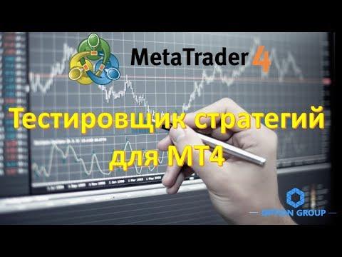 Тестировщик стратегий для МТ4. Обзор и применение