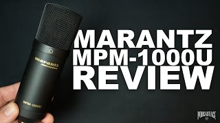 Marantz Pro MPM-1000u USB Mic Review / Test