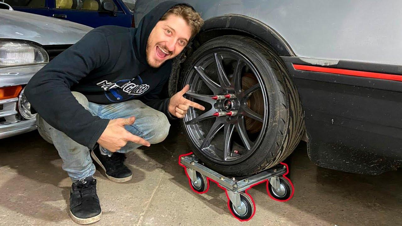 DIY carritos para el auto