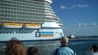 Самый большой круизный лайнер в мире (The Largest Cruise Ship)