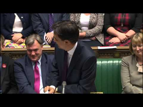 Heated exchange: Cameron v Miliband on energy prices