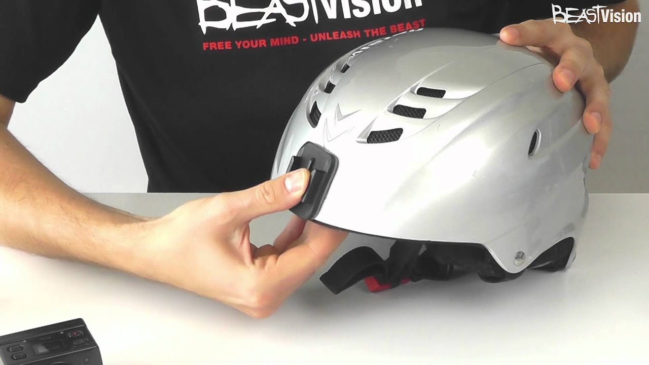 beastvision hd action kamera helmbefestigung zur. Black Bedroom Furniture Sets. Home Design Ideas