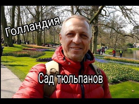 КОРОЛЕВСКИЙ ПАРК ЦВЕТОВ В НИДЕРЛАНДАХ.ПАРК КЁКЕНХОФ.ТЮЛЬПАНЫ.