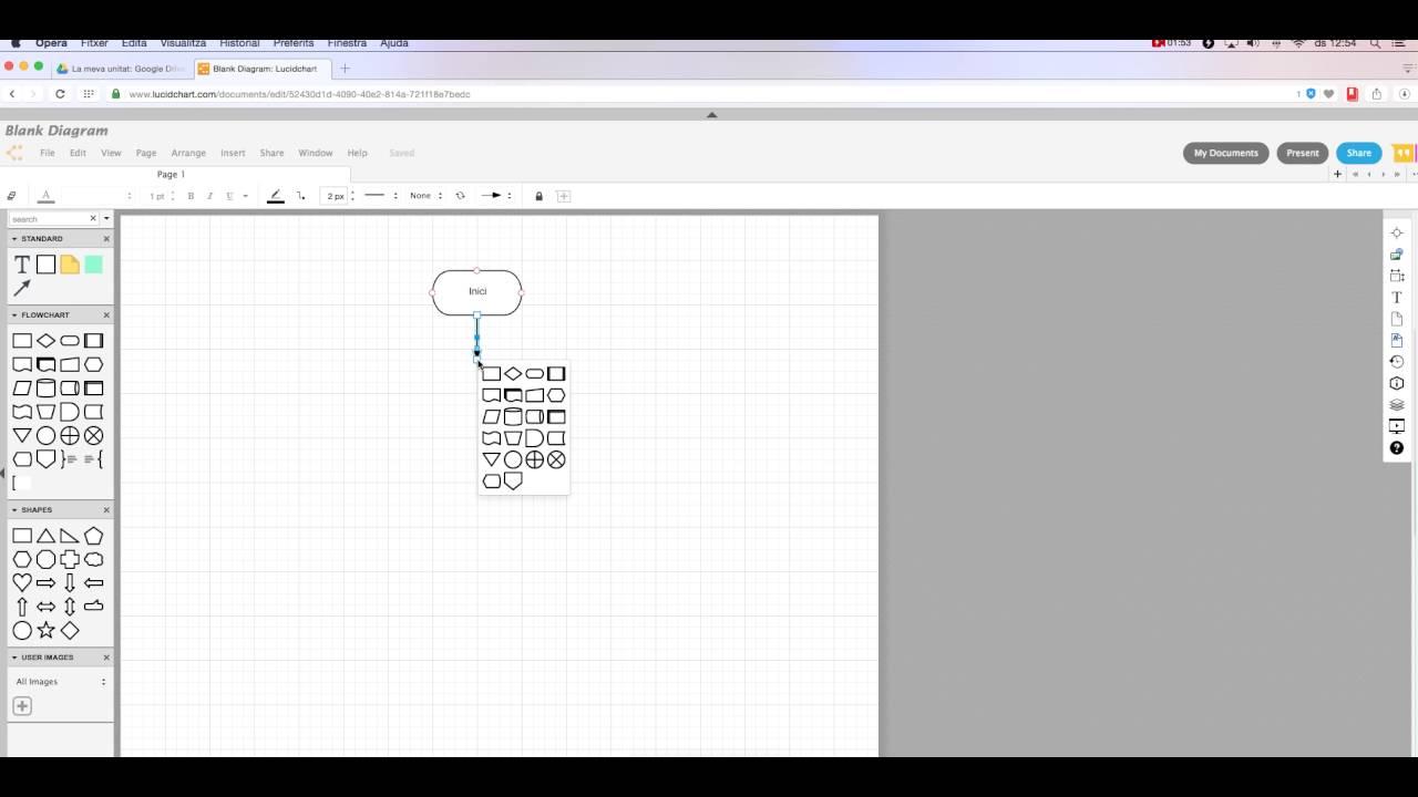 hight resolution of fer un diagrama de flux