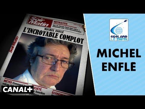 Les révélations chocs du philosophe Michel Enflé - Groland le Zapoï du 10/06 - CANAL+